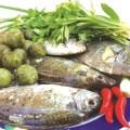 Canh cá nấu sấu ngày hè