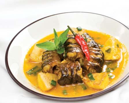 Lươn om khoai sọ lạ miệng và ngon cơm