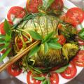 Hương vị đồng quê món cá chép kho ngót