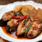 Cá kho củ cải tuyệt ngon kiểu Hàn