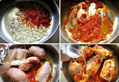 Cách làm cá kiếm sốt cà chua
