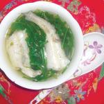 Giải nhiệt với món canh cá khoai rau tần