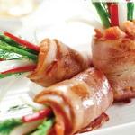 Cách làm món cá hồi cuộn măng tây cực ngon cực bổ