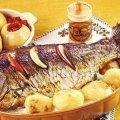 Cá chép nướng mộc nhĩ cực ngon cực thơm
