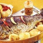 Thơm nức mũi món cá chép nướng mộc nhĩ
