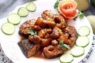 Cá lóc kho cà ri thơm cực ngon