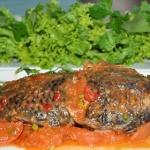 Cá rô phi hấp chua ngọt ngon cơm