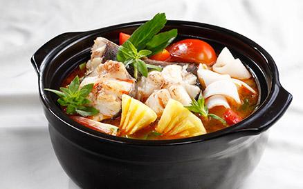 Hấp dẫn cá lăng nấu cà bátHấp dẫn cá lăng nấu cà bát