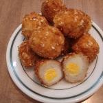 Cá ngừ bọc trứng cút chiên giòn thơm ngon