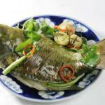 Đổi thực đơn cuối tuần với cá chép hấp ngải cứu