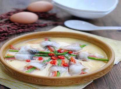 Ngon dễ làm với cá hấp trứng