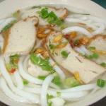 Món ngon cuối tuần: Bánh canh chả cá ngon