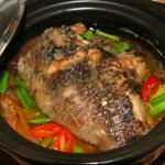 Bữa cơm ngon miệng với cá rô chưng tương bần