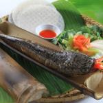 Lạ miệng với món cá lóc nướng ống tre- đặc sản Nam Bộ