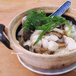 Ngon miệng với món cơm cá hấp nấm