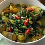 Cách làm cá lóc nấu chuối dân dã cực ngon