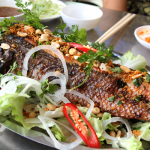 Hướng dẫn làm cá lóc quay nước dừa vị béo ngậy