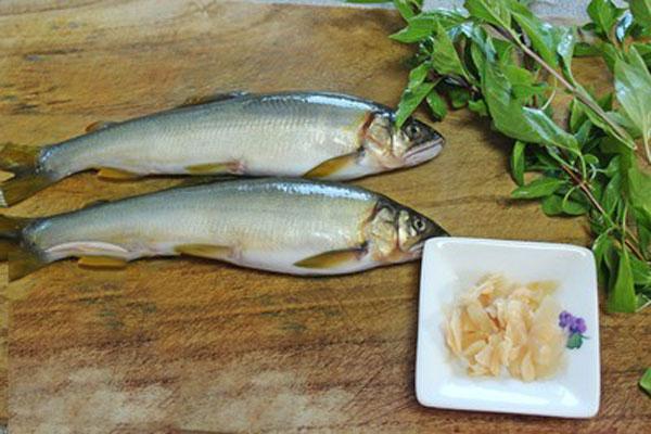 Nguyên liệu cho món cá kho húng quế